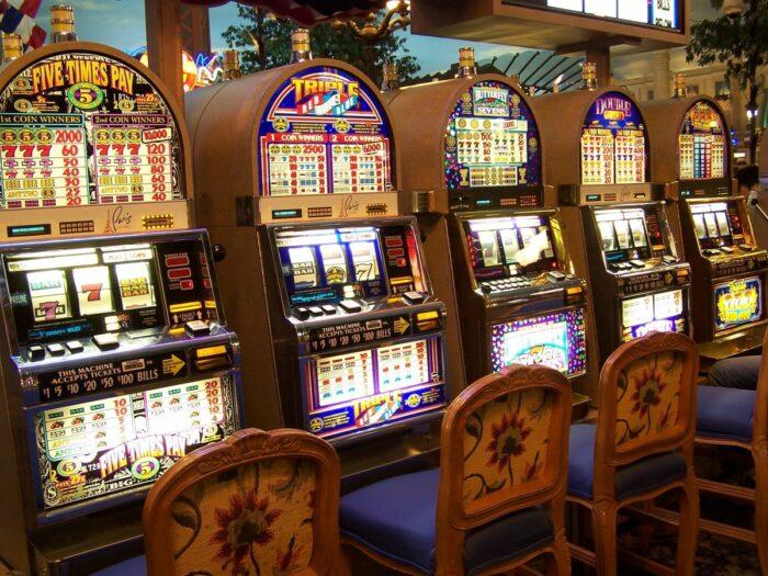 building, machine, slot machine, las, vegas, casino, gambling, entertainment
